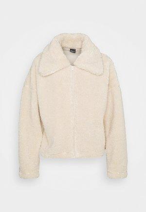 DARLA JACKET - Fleece jacket - beige fluff