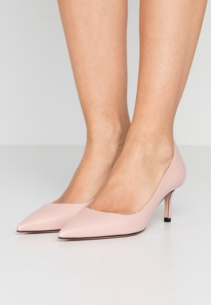 INES - Klassiske pumps - open pink