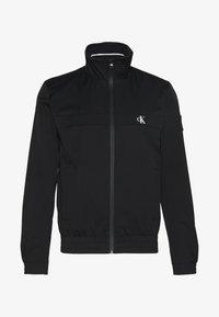 ZIP UP HARRINGTON - Summer jacket - black