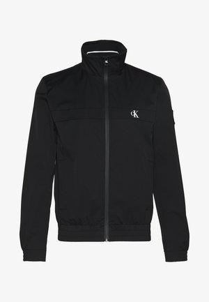 ZIP UP HARRINGTON - Summer jacket - black