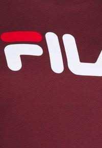 Fila Plus - PURE SHORT SLEEVE - Printtipaita - tawny port - 6
