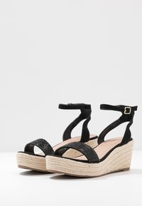 Anna Field - Espadrillas - black - 4