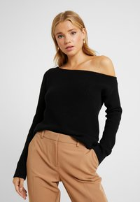 Even&Odd Petite - Jumper - black - 0