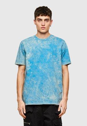 T-JUST-E2 - Print T-shirt - light blue