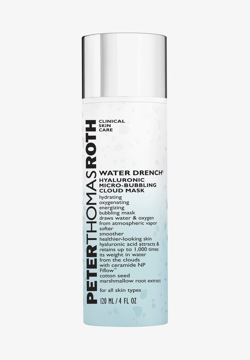 Peter Thomas Roth - WATER DRENCH™ HYALURONIC MICRO-BUBBLING CLOUD MASK - Face mask - -