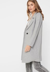 ONLY - Manteau court - medium grey melange - 3
