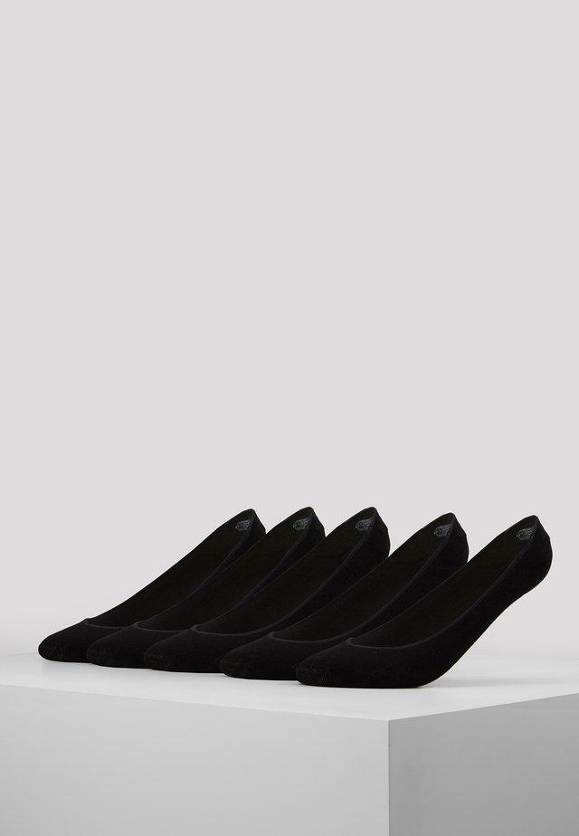 INVISIBLE SOCKS 5 PACK - Calzini - black