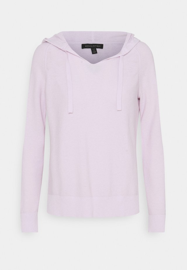 OPEN NECK HOODIE HOOKUP - Maglione - palest lilac
