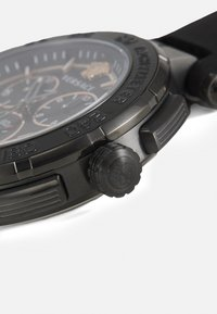 Versace Watches - GRECA - Chronograph watch - black - 4