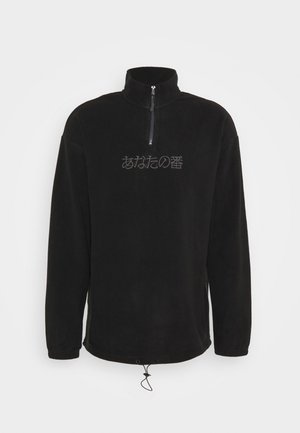 UNISEX - Fleecetröja -  black