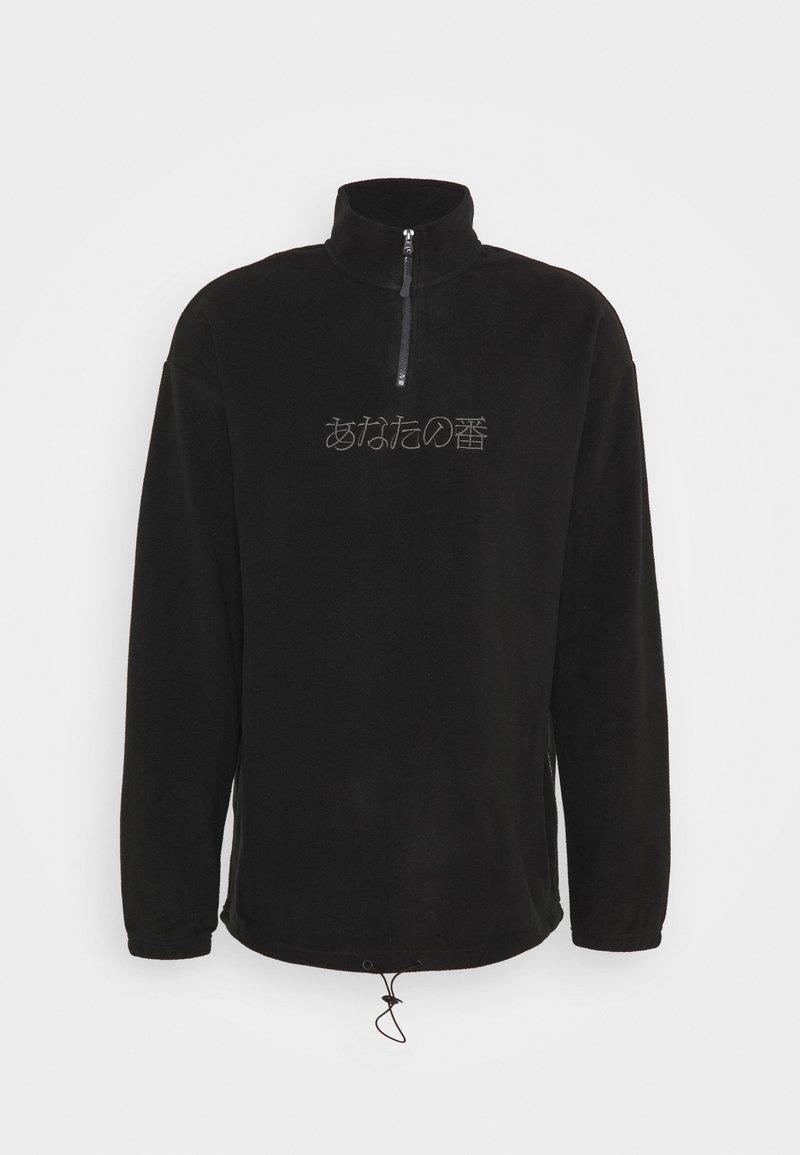 YOURTURN - UNISEX - Fleece jumper -  black