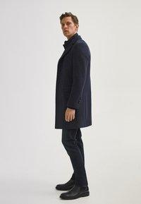 Massimo Dutti - Classic coat - blue - 1