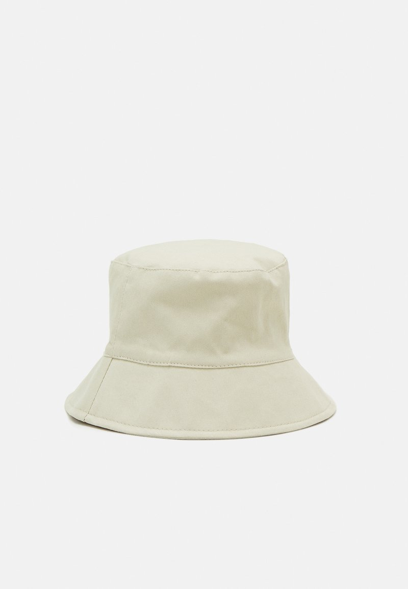 Pieces - PCNABBY BUCKET HAT - Klobouk - almond oil