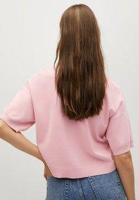 Mango - NURIET - Polo shirt - roze - 2