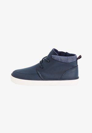 CHUKKA - Lace-up ankle boots - blue