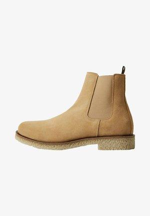 CREPBTN - Classic ankle boots - écru