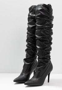 Versace Jeans Couture - Botas de tacón - nero - 4