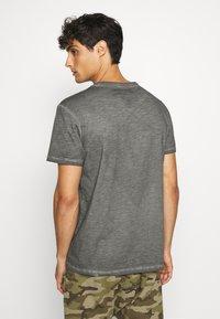 Schott - Print T-shirt - charcoal - 2