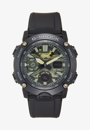 CAMOUFLAGE DIAL - Chronograph watch - black