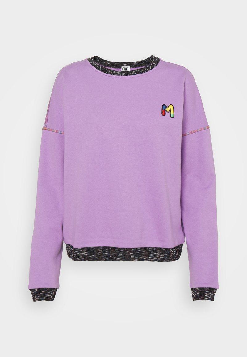 M Missoni - FELPA - Sweatshirt - purple