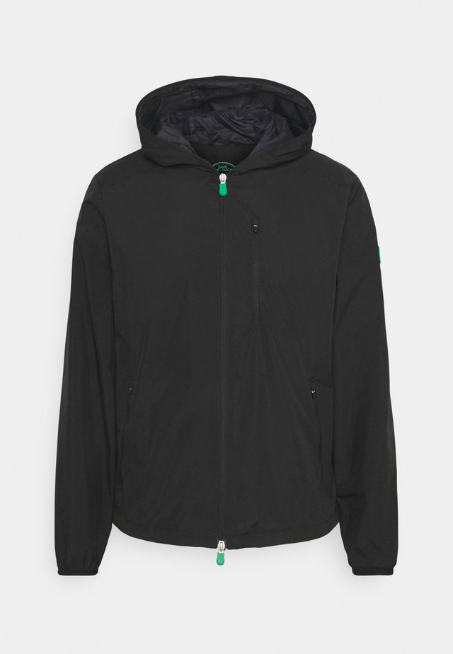 DAVID HOODED JACKET - Veste légère - black