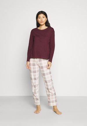 CHECK - Pyjama - purple