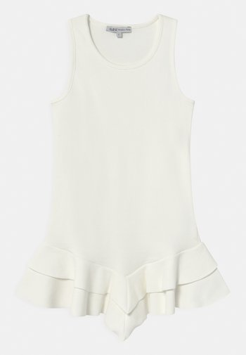 ABITO COSTINA - Jersey dress - white
