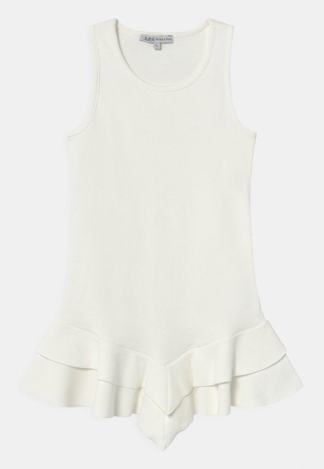ABITO COSTINA - Žerzejové šaty - white
