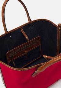 Polo Ralph Lauren - OPEN TOTE - Handbag - red - 4
