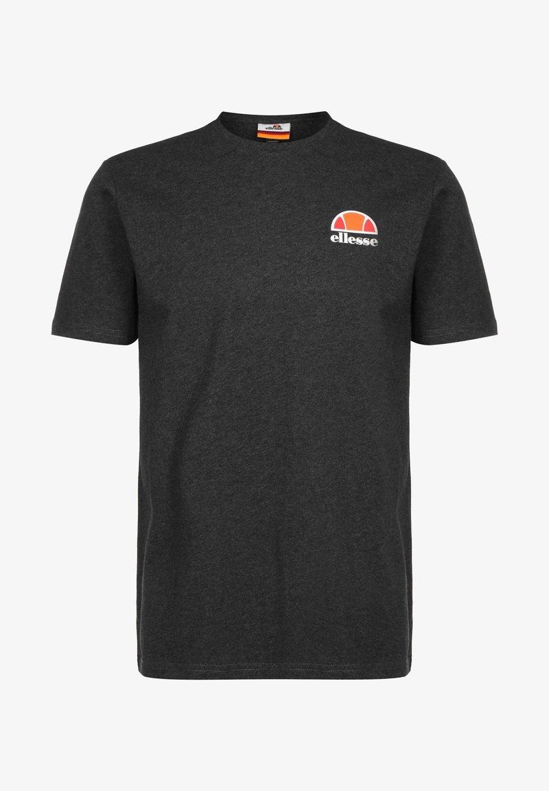 Ellesse - CANALETTO - Print T-shirt - dark grey marl