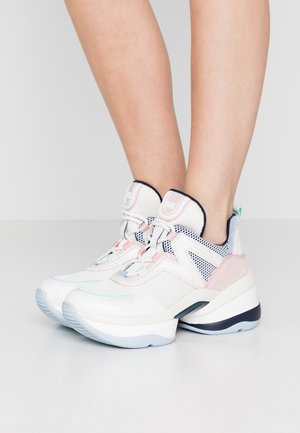 OLYMPIA TRAINER - Trainers - cream/multicolor