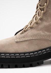 Proenza Schouler - Platform ankle boots - deserto - 2