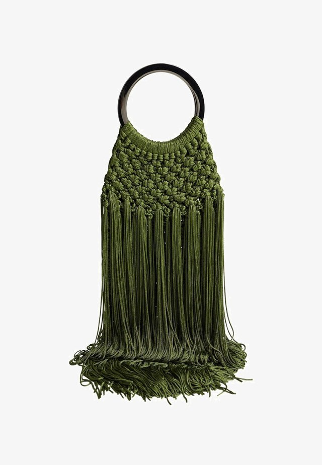CLAUDIA - Handbag - billiard green