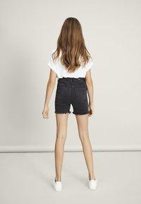 LMTD - Denim shorts - black denim - 1