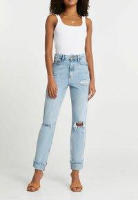 River Island - SCULPT - Slim fit jeans - blue - 1