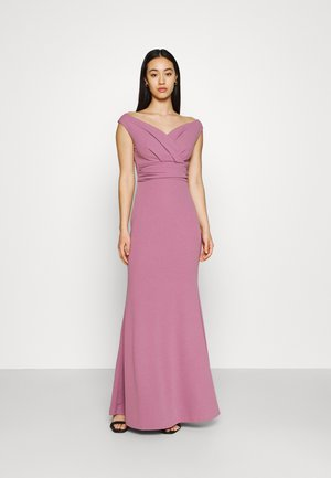 ANDREW OFF SHOULDER DRESS - Iltapuku - mauve pink