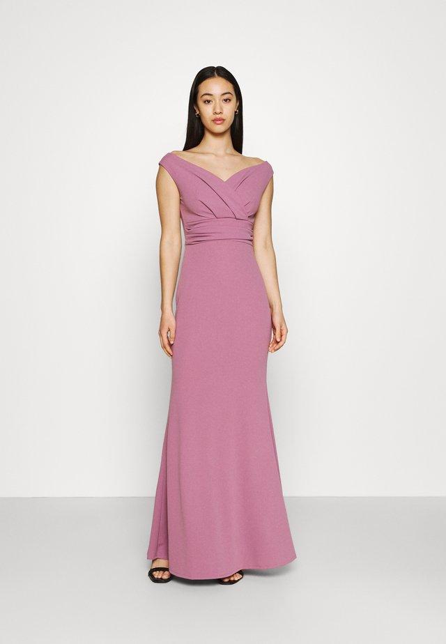 ANDREW OFF SHOULDER DRESS - Suknia balowa - mauve pink