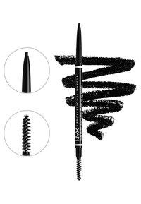 Nyx Professional Makeup - MICRO BROW ESSENTIALS – MIRCRO BROW PENCIL - Makeup set - black - 3