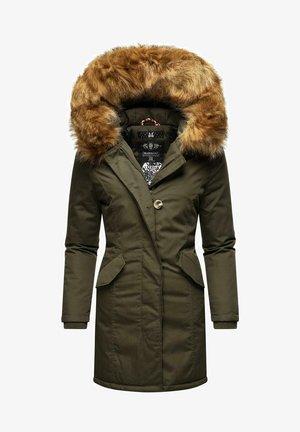 KARMAA - Winter coat - olive