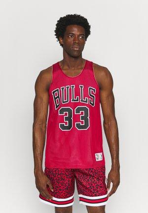 NBA CHICAGO BULLS SCOTTIE PIPPEN REVERSIBLE TANK - Article de supporter - scarlet/white