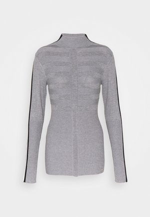 MENTOL - Pullover - gris/off white