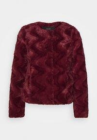 Vero Moda Petite - VMCURL SHORT JACKET - Winter jacket - cabernet - 0