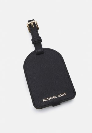 CHARMS LEATHER LUGGAGE TAG - Travel accessory - black