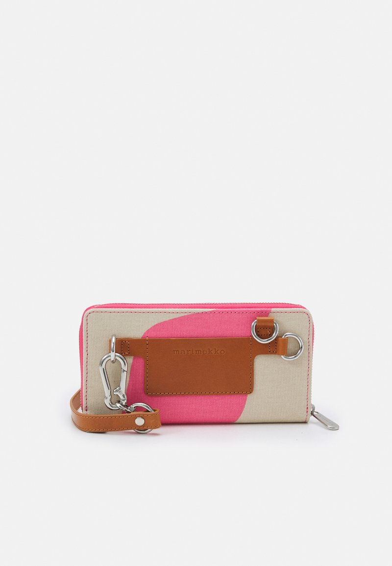 Marimekko - SALO TAIFUUNI BAG - Across body bag - brown/pink