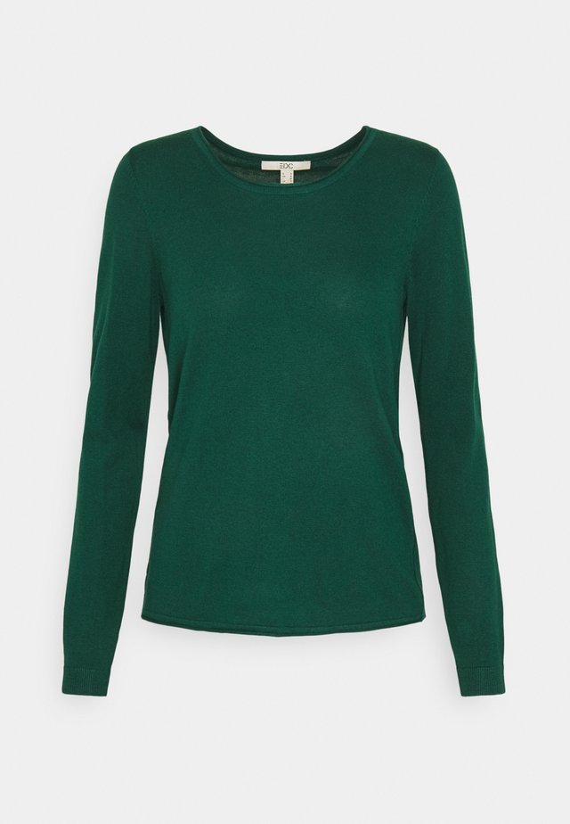 BASIC - Pullover - dark teal green