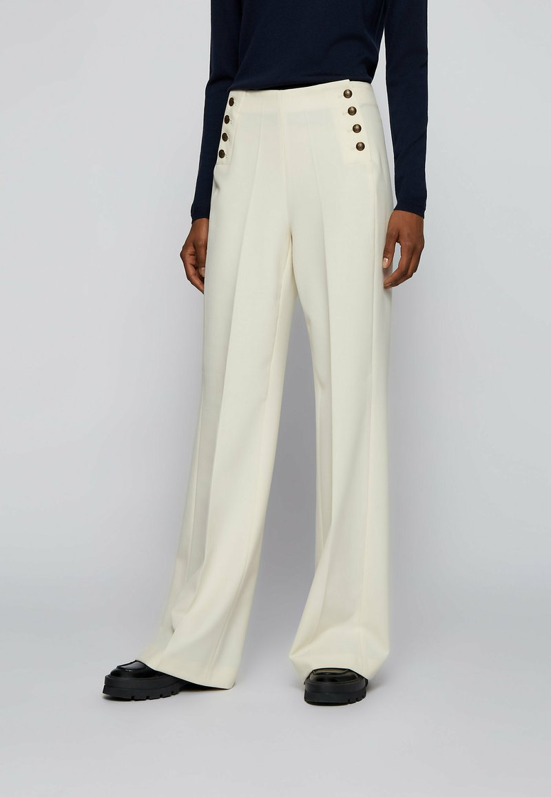 BOSS - TOCALITA - Trousers - natural