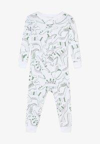 Carter's - ZGREEN BABY - Overal - white/khaki - 2
