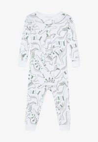 Carter's - ZGREEN BABY - Kombinezon - white/khaki - 2