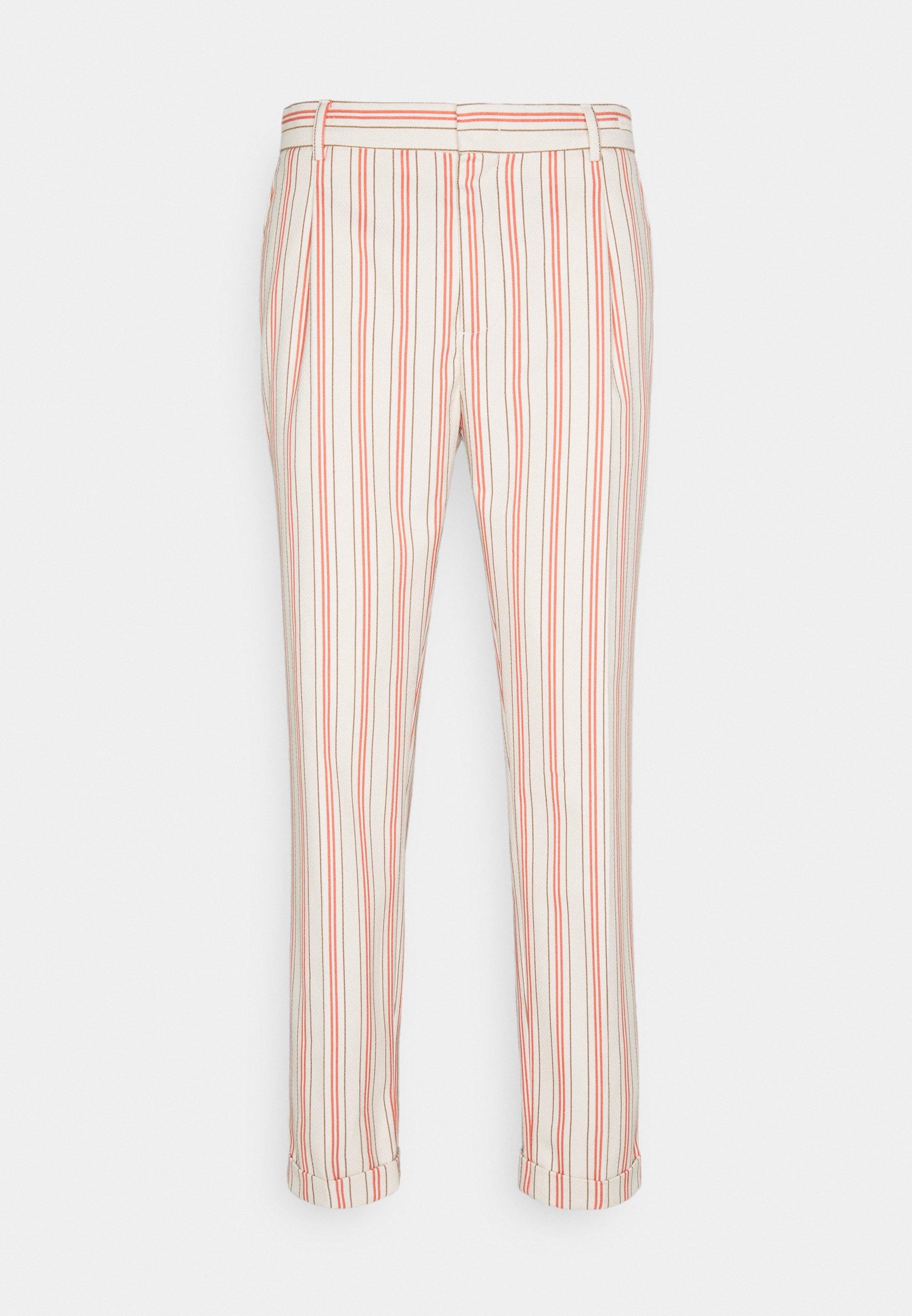 Homme BLAKE CLASSIC PLEATED STRUCTURED - Pantalon classique