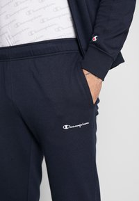 Champion - FULL ZIP SUIT - Träningsset - navy - 7